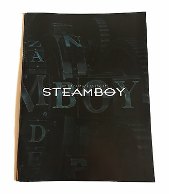 STEAMBOY Katsuhiro Otomo JAPAN MOVIE PROGRAM BOOK 2004 Anime Akira