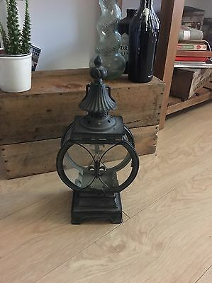 Lantern And Candle Holder