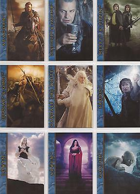 "Lord Of The Rings ROTK: ""Mexican Cinema"" 9 Card Promo Set"