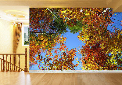 3D Leaves Branches Wall Paper Murals Wall Print Decal Wall Deco AJ WALLPAPE