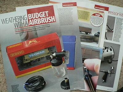 Getting the best from a budget airbrush - Hornby magazine article