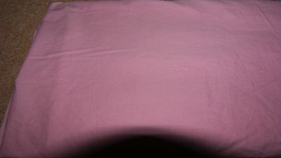 Pink Fitted valance Sheet Poly Cotton Bed Sheet Single size
