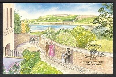 Alderney 2000 Garrison Island 4Th Series Booklet Asb10