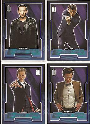 Topps Doctor Who 2015 - 200 Card Blue Parallel Base Set (Cards numbered to #199)