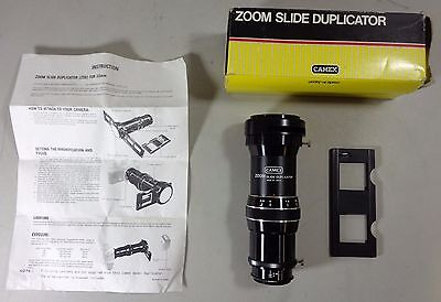 Camex T Mount Zoom Slide Duplicator for 35mm Ratio 1:1 - 2,50 Boxed