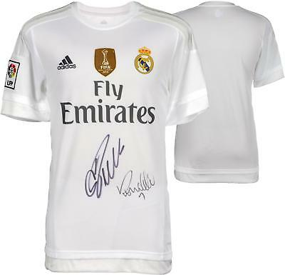 Ronaldo and Christiano Ronaldo Real Madrid Dual Autographed Jersey