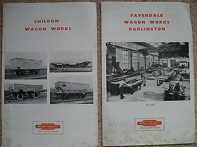 Shildon & Faverdale Wagon Works  brochures 1960s ( some foxing/staining)