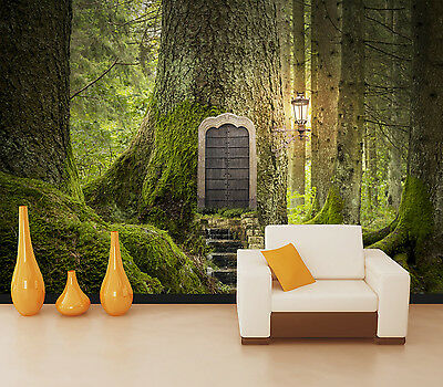 3D Trunk Forest Room Wall Paper Murals Wall Print Decal Wall Deco AJ WALLPAPE
