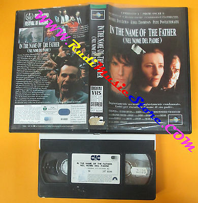 VHS film IN THE NAME OF THE FATHER nel nome del padre UNIVERSAL (F40**) no dvd