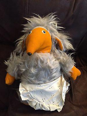 Vintage Pedigree Womble Madame Cholet 1970's Cuddley Toy Made In England