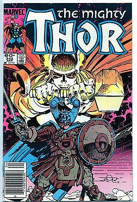 The Mighty Thor 342 NM 1984 newsstand Marvel