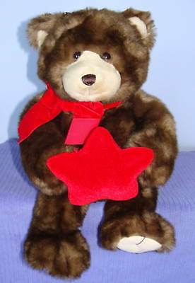 """Gund Musical Bear When You Wish Upon A Star 18"""" Tall Peoples Jewellers 46410"""
