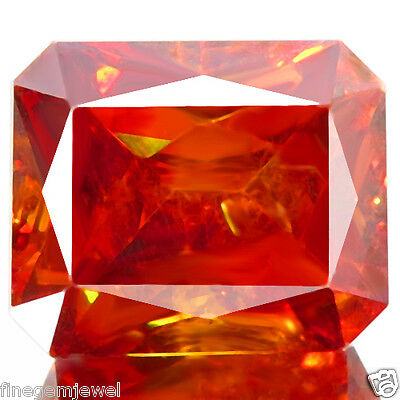 12.73ct WOW SPARKLING NATURAL 5A MULTI COLOR ORANGE SPHALERITE RARE FROM SPAIN!
