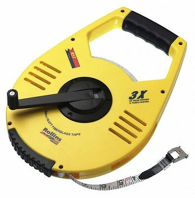 RST Geared Tape Measure 30m (100')