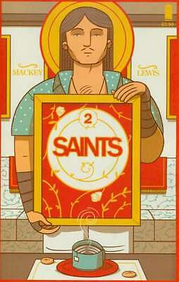 Saints (2015 series) #2 in Near Mint + condition. FREE bag/board