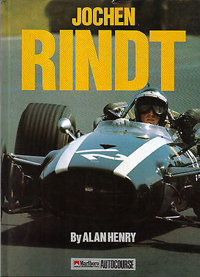 Jochen Rindt Driver Profiles No 6 by Alan Henry Career Cars Records +