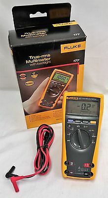 Fluke 177 True RMS LCD Digital Multimeter (Frequency, Diode, Voltage, Current)