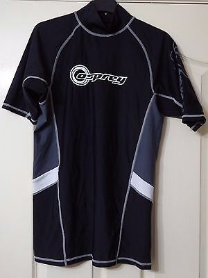 Osprey Men's Short Sleeved Rash Vest - Size Xxl