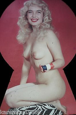 Original 1950S Nude,risque Pin-Up Girl Slide...# Yu-2