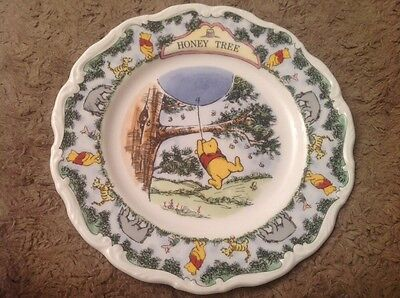 Royal Doulton Honey Tree Winnie The Pooh Collection Collector's Plate Boxed
