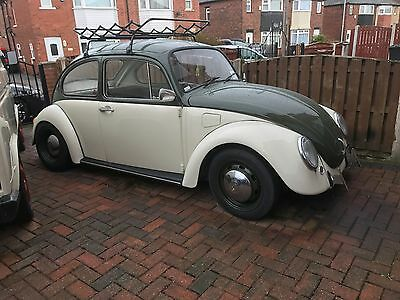 1971 classic VW Beetle 1200 aire cooled very reluctant sale