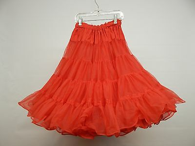 60 Yd Red Nylon Square Dance Petticoat