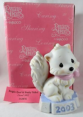 Precious Moments Ornament Artic Fox  Christmas