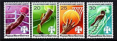 Papua New Guinea 1975 5th S.Pacific Games SG290/3 MNH