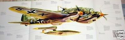 WOW! HEINKEL HE-111 POSTER picture print german bomber
