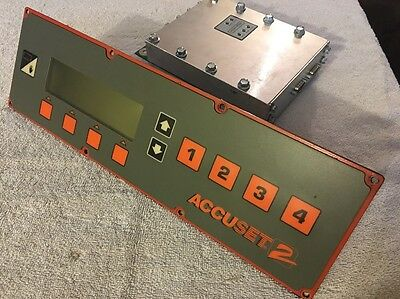 2007 WoodMizer Accuset 2 Front Control Panel & Motor Driver Fits LT40 Thru LT70