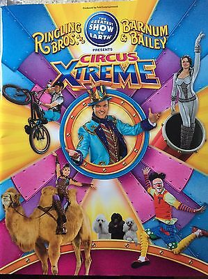 Ringling Brothers Barnum And Bailey 2017 Farewell Tour Program