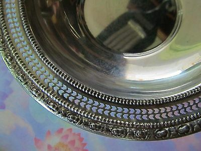 Sterling Silver Talisman Rose Frank M. Whiting Non Weighted #393 Bowl 98.7 Grams