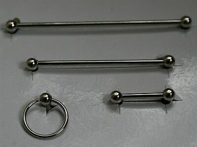 Dolls House accessories     Towel rail set   in chrome   BA157S