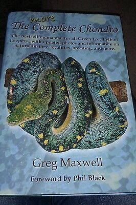 The More Complete Chondro * Greg Maxwell * Signed Edition * Hardback