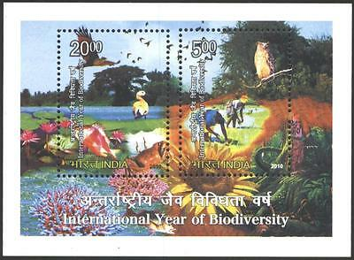 Mint S/S International Year of Biodiversity 2010 from India