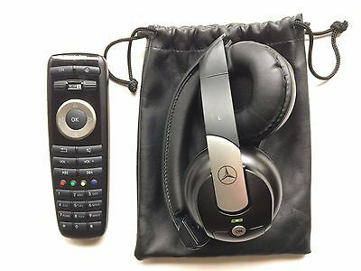 09-2013 Mercedes-Benz S-Class Front Headphone & DVD Remote Control Wireless OEM