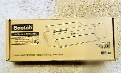 Scotch Thermal Laminator with 100-Pack Laminating Pouches TL901C-T