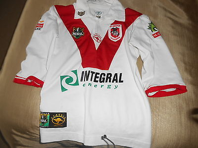 Vintage St George Illawarra  Shirt By Classic   Adults  Xs