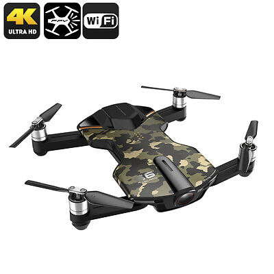 Drone Wingsland S6 Prime- Conception pliable, 4 Flight Modes, 4K Appareil photo