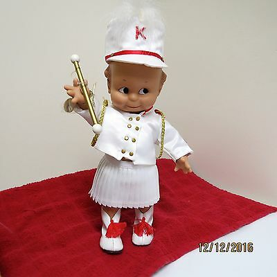 EUC Cameo Collectibles Kewpie Drum Majorette with Baton Darling Outfit