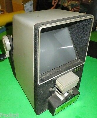 Vernon Deluxe Super 8 Movie Film Editor - Large Viewing Screen - 8mm