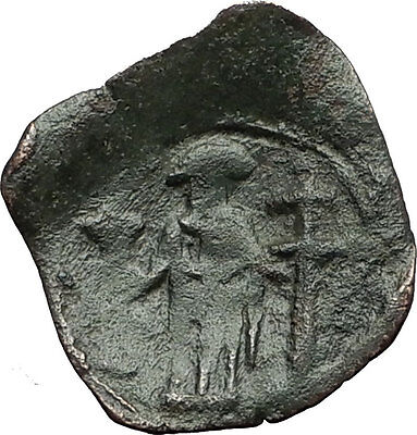 Palaeologus Dynasty 1259-1453AD - Trachy Authentic Ancient Byzantine Coin i59438