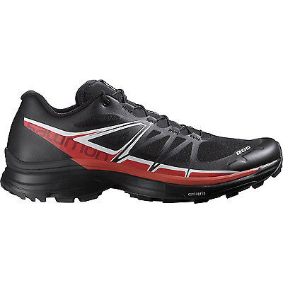 New Salomon Unisex S-Lab Wings SG Trail Running Shoes Size 9.5 Black/Red/White