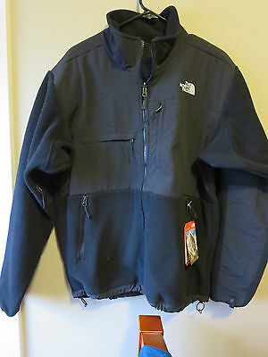 Mens New North Face Denali Jacket Recycled Size Large Color Black