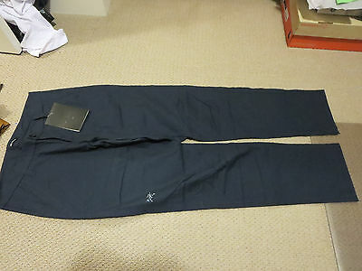 "Mens New Arcteryx Atlin Chino Pants Size 32"" x 32"" Color Admiral"