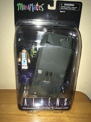 Aliens Minimates Deluxe Battle APC Armored Personnel Carrier with Ripley