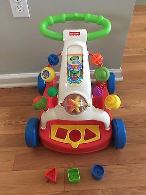 Fisher-Price Walker-To-Wagon - Baby walker - Excellent Condition