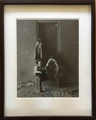 """Jay Dusard Large Format Signed B&W  15""""x19"""" Silver Gelatin Print Photograph"""