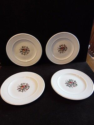 4 Vintage Salad Plates Conway by Wedgwood