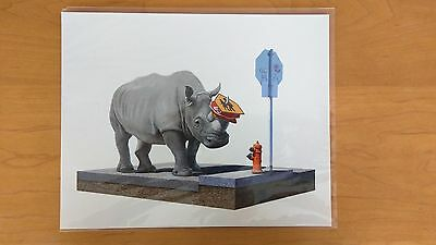 The Collector Josh Keyes Tiny Showcase Limited Edition Giclee Art Print